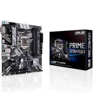 Placa-Mãe Asus Prime Z370M-Plus II, Intel LGA 1151, mATX, DDR4 - R$500