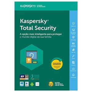 Kaspersky Total Security 2019 - Multidispositivos - 3 Dispositivos, 1 ano