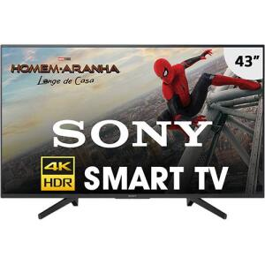 "Smart TV LED 43"" Sony KD-43X705F Ultra HD 4k | R$1.457"