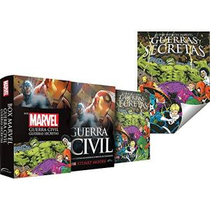 [ Prime] Box Marvel Guerra Civil: Guerras Secreta.  R$ 16,14