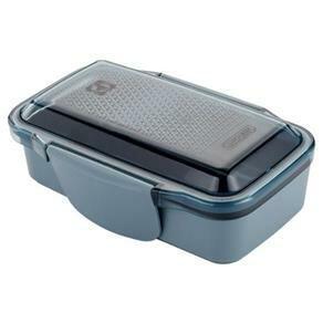 Lunch Box Electrolux em PS e AS – Preta/Cinza