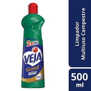 (PRIME) Limpador Gold Multiuso Campestre Squeeze, 500 ml, Veja R$ 2,10