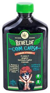 Shampoo Rebelde Com Causa, Lola Cosmetics, 250 ml   R$15