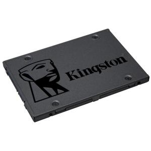 SSD Kingston A400, 480GB, SATA, Leitura 500MB/s, Gravação 450MB/s - SA400S37/480G - R$300