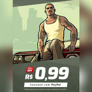 [Primeira Compra] Grand Theft Auto: San Andreas