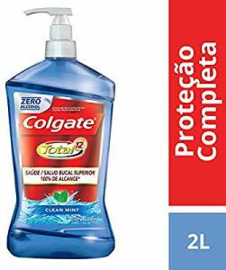 (Amazon Prime)Enxaguante Bucal Colgate Total 12 Clean Mint 2000ml