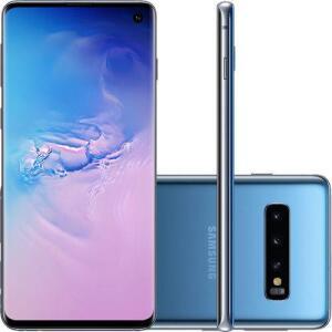 [Cartão Submarino] Smartphone Samsung Galaxy S10 128GB Nano Chip Android Tela 6.1'' Octa-Core 4G - Azul