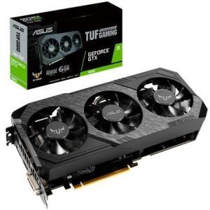 Placa de vídeo Asus TUF3 NVIDEA GeForce GTX 1660 6 GB, GDDR5 - TFU3-GTX1660-A6G-GAMING | R$1.000