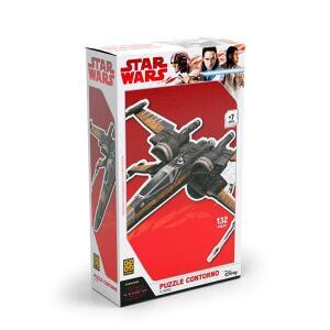 Puzzle Contorno X-Wing Star Wars | R$8