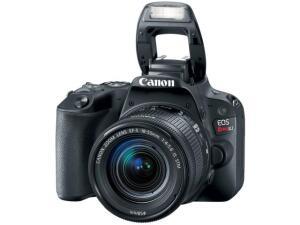 Câmera Digital Canon DSLR EOS REBEL SL2 24,2MP - Semiprofissional -  R$1.799