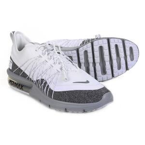 Tênis Nike Air Max Sequent 4 Utility Feminino - Branco e Cinza