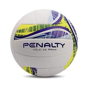 [Prime] Bola Vôlei Praia Fusion IX Penalty 67 cm Branco -  R$90