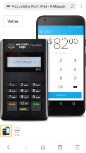 Maquininha Point Mini - A Máquina De Cartão Do Mercado Pago SEM ALUGUEL | R$12