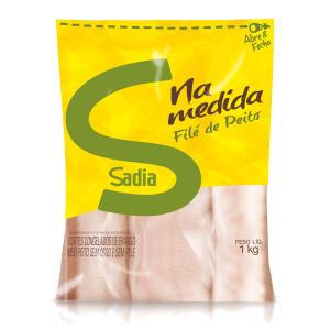 Filé de Peito de Frango Congelado Zip SADIA Pacote 1kg | R$8