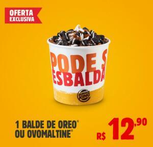 Balde Sorvete | R$12,90