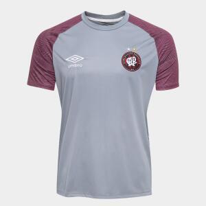 Camisa de Treino Athletico Paranaense 2018 Umbro Masculina - Cinza