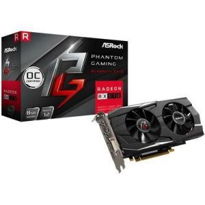 Placa de Video Asrock Phantom Gaming D Radeon RX570 8GB