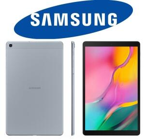 "Tablet Samsung Galaxy Tab A 32GB Octa-Core 1.8GHz Wi-Fi Tela 10,1"" Android Pie - Prata"