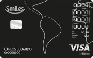 Cartão de Crédito Smiles Infinite Banco do Brasil com 1 Ano de Anuidade Grátis
