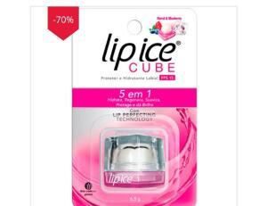 Protetor Labial Lip Ice Cube Romã Blueberry 6,5g R$6