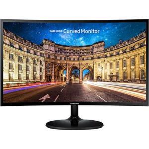 "Monitor Led 24"" Full Hd Preto Curvo Lc24f390"