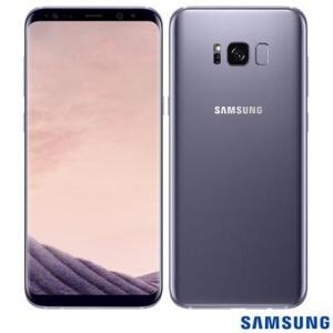 """Samsung Galaxy S8 Plus Ametista, com Tela de 6,2"""", 4G, 64 GB e Câmera de 12 MP - SM-G955"""