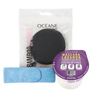 Kit Océane Headband Lavanda Bamboo | R$45