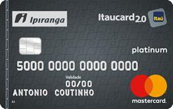 Ipiranga Itaucard Platinum - 3,5% Cashback em combustível pelo app Abastece Aí;
