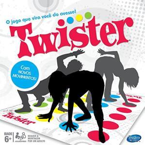 Jogo Gaming Twister No Escuro Hasbro | R$50
