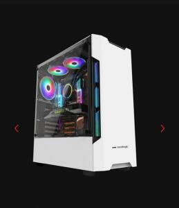 Gabinete Gamer RGB Neologic Branco - NL-C301W | R$200