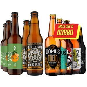 Kit de Cervejas Mais Que o Dobro - Compre 4 Leve 10 R$ 100