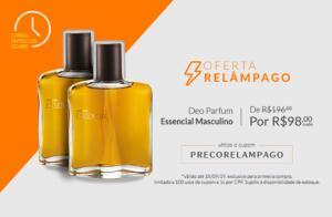 [Primeira Compra] Perfume Essencial masculino - | R$98