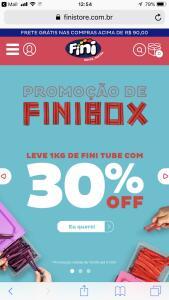 Promoção 30% Fini box