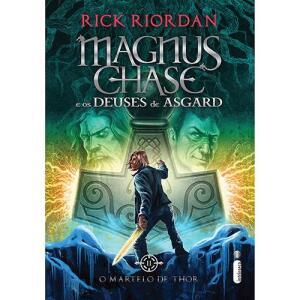 Livro - Magnus Chase e os Deuses de Asgard: O Martelo de Thor | R$9