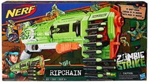 Lança Dardo Nerf Zombie Ripchain Hasbro | R$137