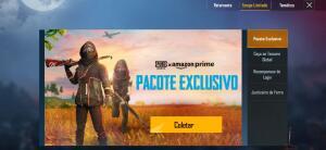 [Pubg Mobile] [Amazon prime] ITENS PRA RESGATAR