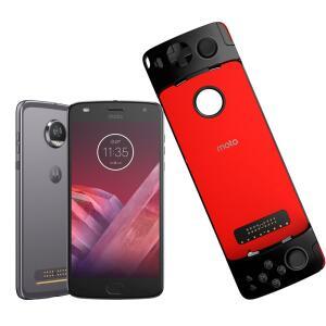 Smartphone Motorola Moto Z2 Play GamePad Edition Platinum 64GB   R$1.169