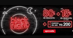 Black Night Americanas - Até R$200 OFF