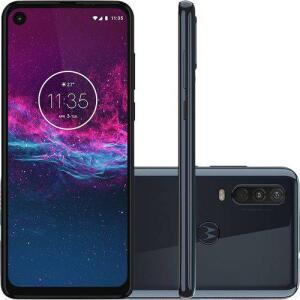 Motorola One Action - Azul Denim R$1099