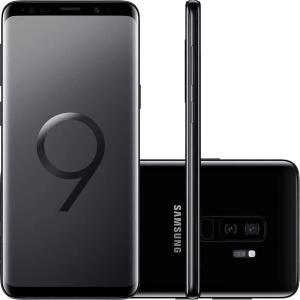 "Smartphone Samsung Galaxy S9+ Dual Chip Android 8.0 Tela 6.2"" Octa-Core 2.8GHz 128GB 4G Câmera 12MP Dual Cam - Azu"