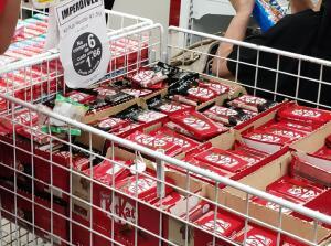 [Americanas Loja Física + AME]  6 Kit Kats por 9,96 +10% de cashback no AME
