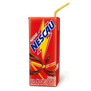 Bebida Láctea de Chocolate Nescau 200ml - R$2