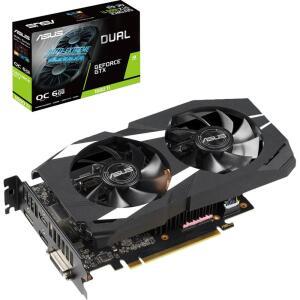 [APP+Cc Submarino] Placa de Vídeo 1660 TI Asus Geforce Dual OC 6GB DDR6 192 Bits - Dual-GTX 1660TI-O6G