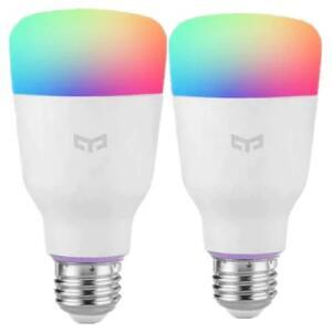DUAS Lâmpadas Yeelight (Xiaomi) RGB 10W   R$160