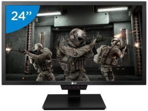 "Monitor Gamer Full HD LG LED Widescreen 24""-24GM79G-B | R$1.195"