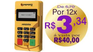 Minizinha do PagSeguro | R$40
