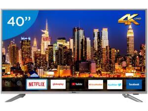 "Smart TV LED 40"" Philco PTV40G50sNS Ultra HD 4k | R$1.182"