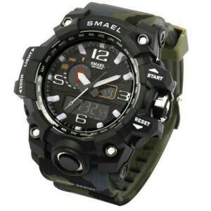 [70% AME] Relógio shock Smael Militar