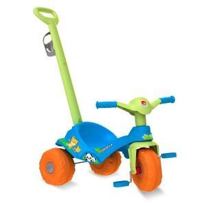 [AME 70%]Triciclo Bandeirante Mototico Passeio & Pedal Azul 838 R$ 199