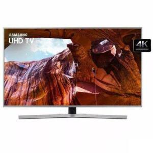 "(CC Submarino) Smart Tv Samsung Uhd 4k 2019 HDR10+  Ru7450 50"" Design Premium - Bivolt"